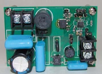 Внешний вид платы для контроллеров An9910 и An9910В