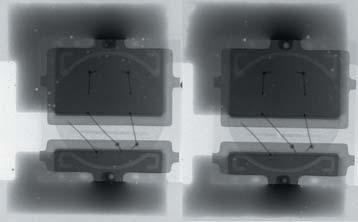 Рентгеновские снимки светодиодов, паста 9 (OSP, 0,9%)