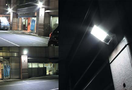 Светодиодное освещение на примере прожектора
