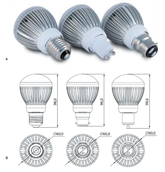 Лампа GL-BR20