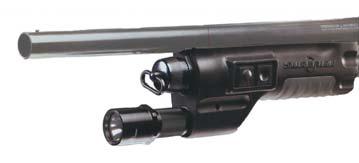 Фонарь 617LF, установленный на охотничьем оружии