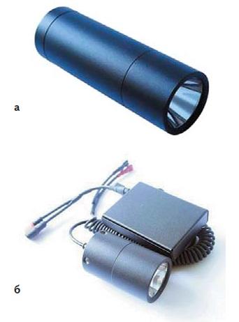 Подствольные фонари: а) «2Д»; б) «2М»