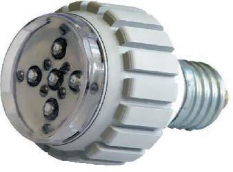 Конструкция исследуемой светодиодной лампы ЛПК-220