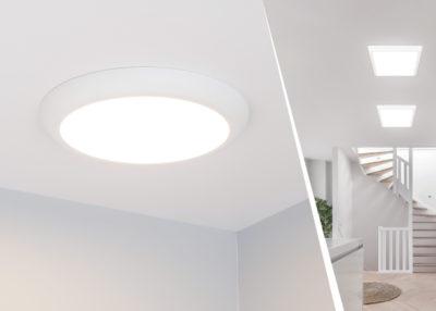 Накладные/встраиваемые светильники серии FIOKK с изменяемыми значениями мощности и цветовой температуры от Arlight