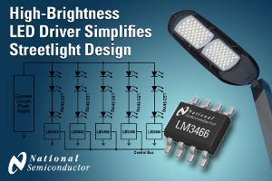 Новый драйвер сверхъярких светодиодов компании National Semiconductor