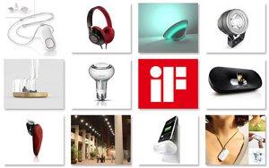 Рекордное число продуктов компании Philips удостоено премии в области дизайна iF 2011