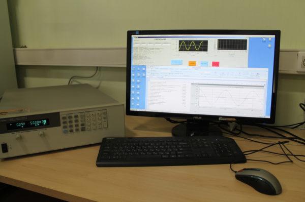 Блок питания — анализатор электрических параметров светильника