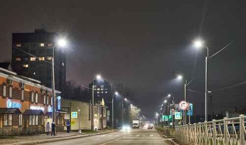 Новое экологичное освещение в Гатчине сократит энергопотребление более чем на 60%
