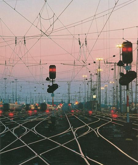 Железнодорожная станция светодиоды